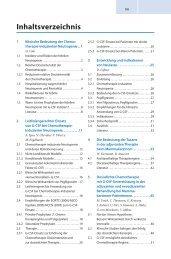 Inhaltsverzeichnis - SWBplus