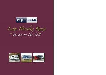 Large Horsebox Range Invest in the best - Erik Sommer