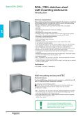 Stainless-steel and Thermoplastic Universal ... - Schneider Electric - Page 4