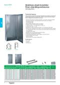 Stainless-steel and Thermoplastic Universal ... - Schneider Electric - Page 6