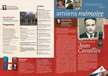 Jean Cavaillès - Amiens