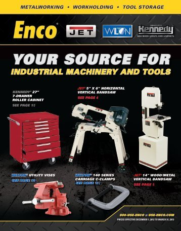 Enco Farmingdale, United States. Founded in , Enco has established a longstanding reputation as a leading national supplier of machinery, machine tools and shop supplies.