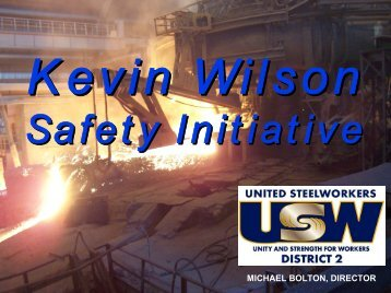 Kevin Wilson Initiative - USW