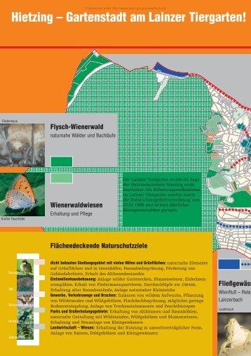 Hietzing – Gartenstadt am Lainzer Tiergarten!