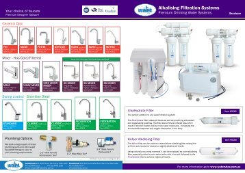 Product brochure - The Water Shop
