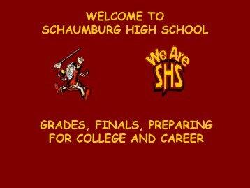 2 credits - Schaumburg High School