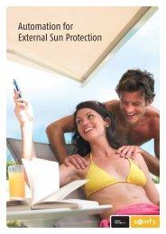 Automation for External Sun Protection - Viva Sunscreens