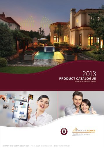 2013 Product catalogue (En)1.0.cdr - Smart-Bus Home Automation