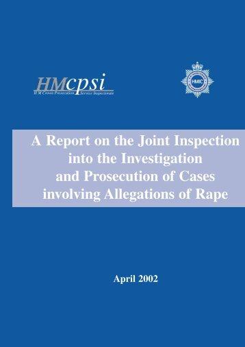 investigation - HMCPSI