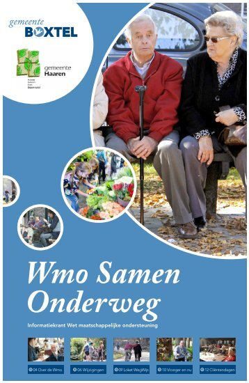 Wmo informatiekrant - Gemeente Boxtel