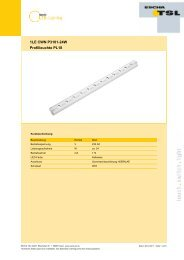 1LE CWN P3101-24W Profilleuchte PL18 - Logo ESCHA TSL GmbH