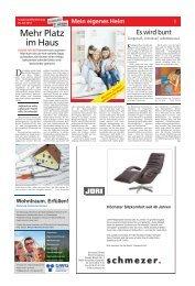 Mein eigenes Heim - Haller Tagblatt