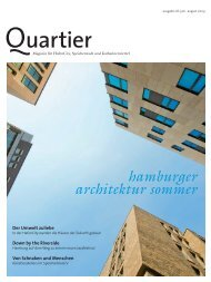 architektur sommer hamburger - Quartier