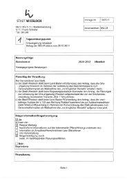 Vorlage 19/2012 - Stadt Wiesloch