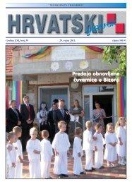 39. broj 29. rujna 2011.