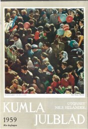 .' 30:e årgången - Kumla kommun