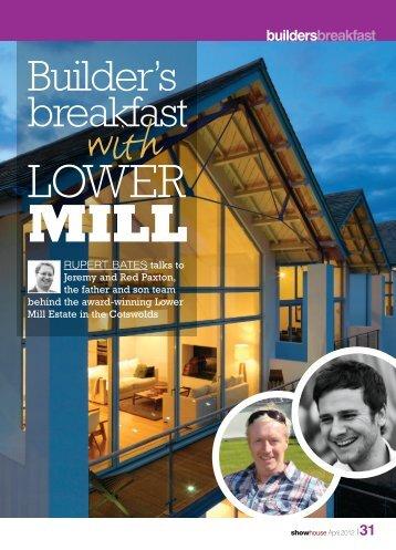 buildersbreakfast - Lower Mill Estate