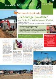 """""""Lebendige Baustelle"""" - GARTENSTADT Flensburg Weiche"""