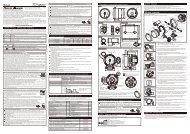 Defi Racer Gauge manual 80 tachometer 2011.10-1