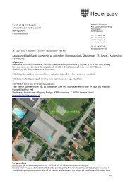 Landzonetilladelse til indretnig af udendørs fitninessplads ...