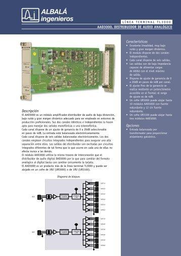 Datasheet - Albalá Ingenieros