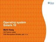 Operačný systém Solaris 10 - matus