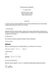 Coefficienti trinomiali