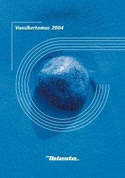 Vuosikertomus 2004 - Teleste