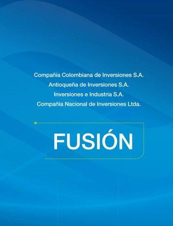 Informe de Fusión 2008 - Celsia