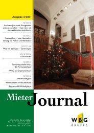 MieterJournal II/2011 - WBG Wohnungsbaugesellschaft Görlitz mbH