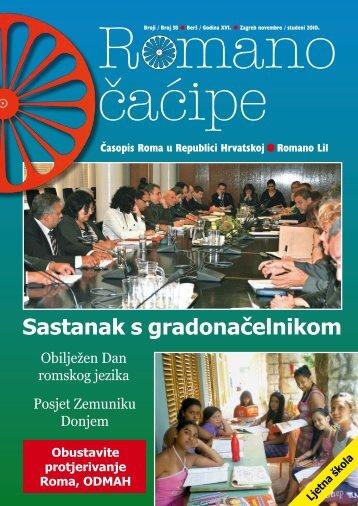 'Romano čaćipe' novi broj (PDF dokument) - Udruga Roma Zagreba