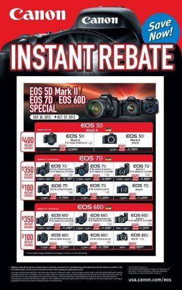 EOS 5D Mark II EOS 7D EOS 60D SPECIAL EOS 5D Mark II EOS 7D ...