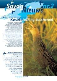 Sovon Nieuws2001-2.pdf - SOVON Vogelonderzoek Nederland