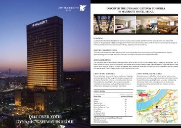 Hotel Fact Sheet - Marriott