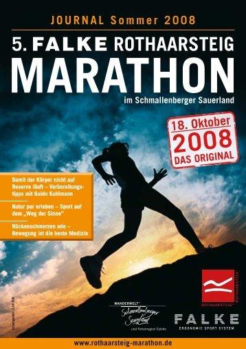 5. FALKE ROTHAARSTEIG - Rothaarsteig Marathon
