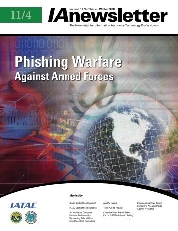 Phishing Warfare - IAC - Defense Technical Information Center