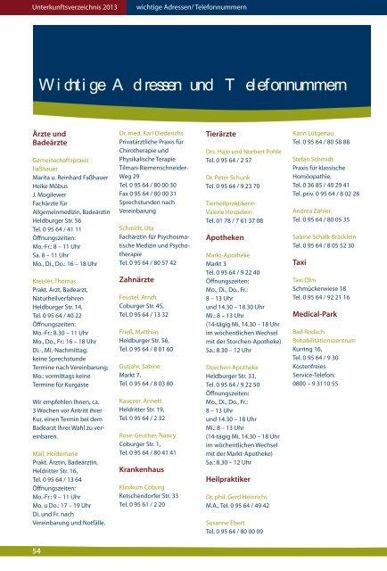 Unterkunftsverzeichnis 20
