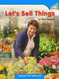 Lesson 4:Let's Sell Things!