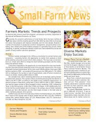 Farmers Markets - University of California Small Farm Program - UC ...