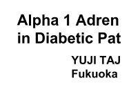 Alpha 1 Adrenergic Inhibition Ameliorates Insulin Resistance in ...