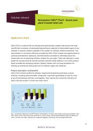 Novozymes Cellic[®] CTec3 - Secure your plant's lowest total cost