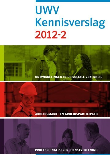 UWV Kennisverslag 2012 II