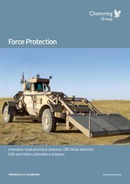Force Protection - Chemring Group PLC