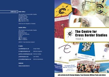 Yearbook - The Centre for Cross Border Studies