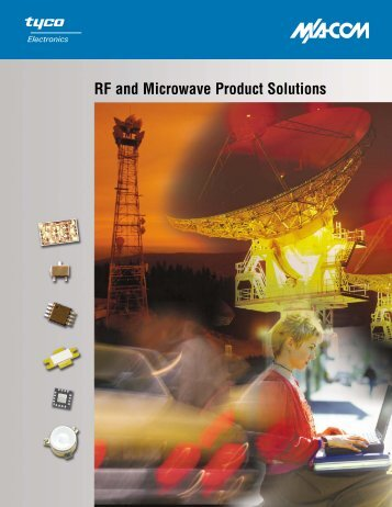 RF and Microwave Product Solutions