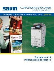 Savin - C230