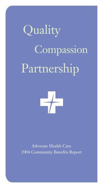 2004 Benefit Report - Advocate Health Care