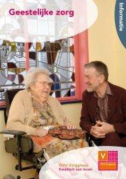 Brochure Geestelijke zorg - Viva! Zorggroep