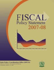 Fiscal Policy Statement 2007-08 - Ministry of Finance