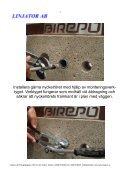 B-Lock Flex i sten/murvägg - Linjator AB - Page 4
